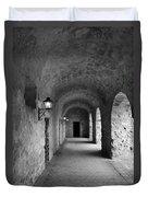 Mission Concepcion Rock Archway Duvet Cover