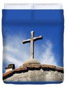 Mission Cross Duvet Cover