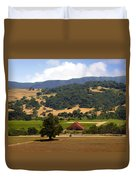 Mission Meadows Solvang California Duvet Cover