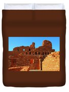 Mission Ruins At Abo Duvet Cover