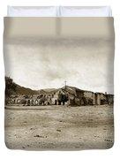 Mission San Antonio De Padua California Circa 1903 Duvet Cover