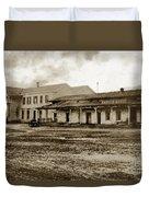 Mission San Francisco De Asis Mission Dolores And Mission House Calif. 1880 Duvet Cover
