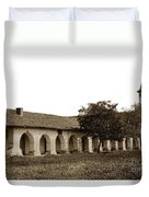 Mission San Juan Bautista San Benito County Circa 1905 Duvet Cover