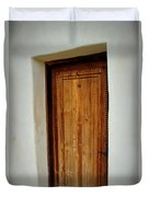 Mission San Juan - Door Duvet Cover