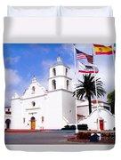 Mission San Luis Rey Duvet Cover