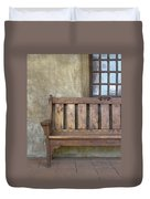 Mission Still Life II, Mission San Juan Capistrano, California Duvet Cover