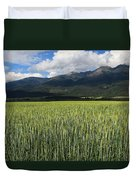 Mission Valley Wheat Duvet Cover