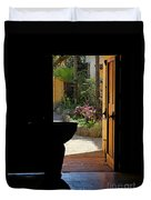 Missions Side Door Duvet Cover