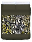Mississippi At Gettysburg - Desperate Hand-to-hand Fighting No. 4 Duvet Cover