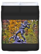 Mississippi At Gettysburg - Desperate Hand-to-hand Fighting No. 5 Duvet Cover