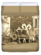 Mississippi Christmas 11 Duvet Cover