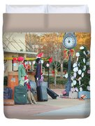 Mississippi Christmas 7 Duvet Cover