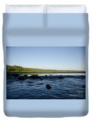 Mississippi Headwater And Lake Itasca Duvet Cover