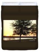 Mississippi Sunset 12 Duvet Cover