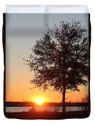 Mississippi Sunset 6 Duvet Cover