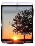 Mississippi Sunset 7 Duvet Cover