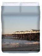 Misson Beach  Duvet Cover