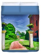 Missouri Botanical Garden Pathway Duvet Cover