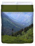 Mist In The Valley Duvet Cover