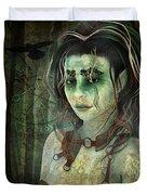 Mistress Of The Dark Woods Duvet Cover