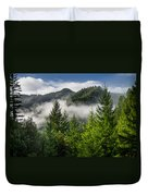 Mists Among The Hills Duvet Cover