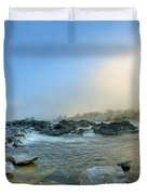 Mists Of Great Falls Duvet Cover