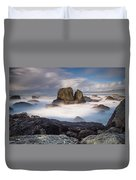 Mists Of The Sea Duvet Cover