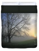 Misty Dawn Duvet Cover