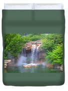 Misty Falls Duvet Cover
