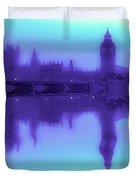 Misty London Reflection Duvet Cover