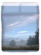 Misty Monday Duvet Cover
