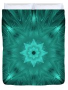Misty Morning Star Bloom Duvet Cover