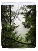 Misty Mossy Morning Duvet Cover