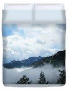 Misty Mountain Colorado Duvet Cover