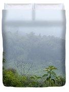 Misty Mountains Duvet Cover