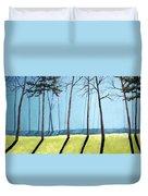 Misty Pines Duvet Cover