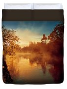 Misty River Duvet Cover