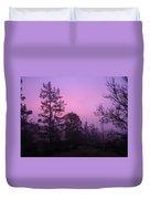 Misty Sunrise Duvet Cover