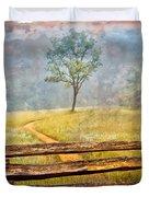 Misty Tree Duvet Cover