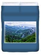 Misty Valley Duvet Cover