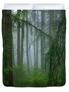 Misty Woodland Duvet Cover