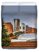 Mit Stata Building Center - Cambridge Duvet Cover