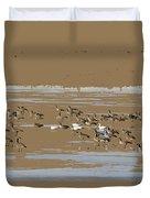 Mixed Flock Duvet Cover