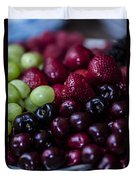 Mixed Fruit Duvet Cover