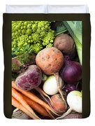 Mixed Veg Duvet Cover