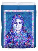 Mj Floral Version 2 Duvet Cover