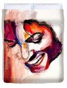 Mj Impression Duvet Cover by Molly Picklesimer