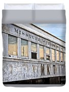 Mkt Train Passanger Car Duvet Cover