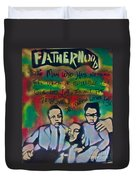 Mlk Fatherhood 1  Duvet Cover