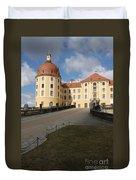 Moated Castle Moritzburg Duvet Cover